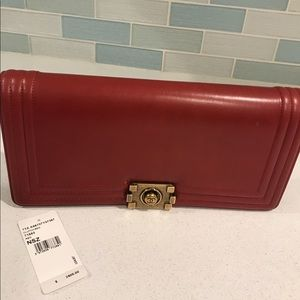 GORGEOUS Chanel Red Clutch BRAND NEW w TAGS
